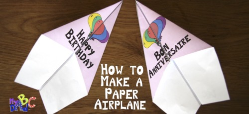 How to Make a Paper Airplane Video Mini-Lesson