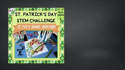 St. Patrick's Day STEM Challenge: St. Pat's Snake Snatcher