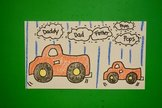 Let's Draw Papa Truck & Baby Truck!  (Father's Day)