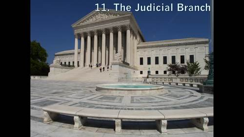 The Judicial Branch (AP Government) Bundle with Video