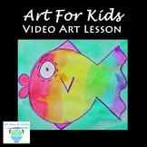 Video Art Lesson: Learn to Draw and Watercolor Paint a Rai