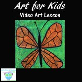 Video Art Project for Kids: Drawing & Painting a Butterfly