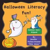 Halloween Literacy and Music Video Set