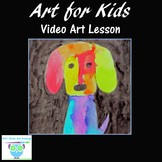 Video Art Lesson: Learn to Draw and Watercolor Paint a Dog