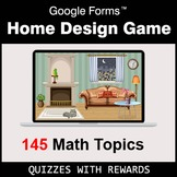 Home Design Game with Google Forms - DEMO - Distance Learn