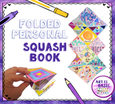 Art Project Video:  About Me Foldable Squash Book