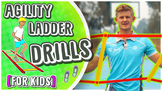 9 Agility Ladder movements for P.E (FREE instructional spo