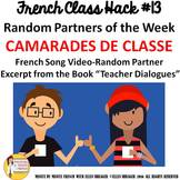 """13 French Class Transition Video """"Random Partners"""" for CI"""