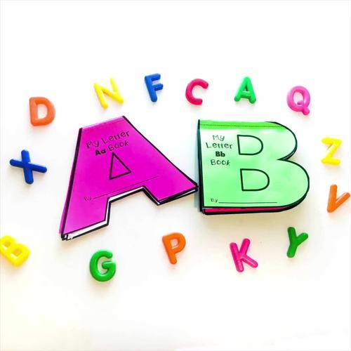 Alphabet Activities Bundle: Phonics A-Z Alphabet Books for Letter Sounds