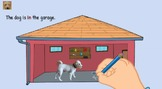 Distance Learning: Prepositions of Place | Video #1