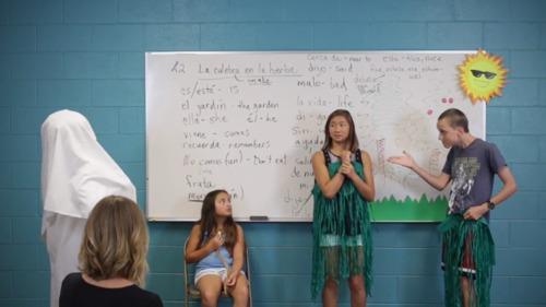 Excelerate SPANISH through Bible Stories Lesson 2- La culebra en la hierba
