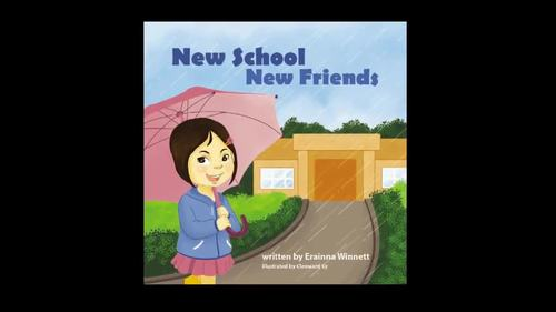 Social Emotional Learning in the Classroom: New School Picture Book (Video)