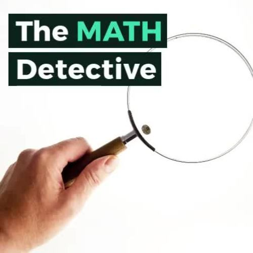 Volume and Surface Area Math Detective