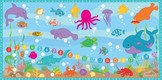 Alphabet Song l ABC Sea Song l Sounds & Names l Counting 0