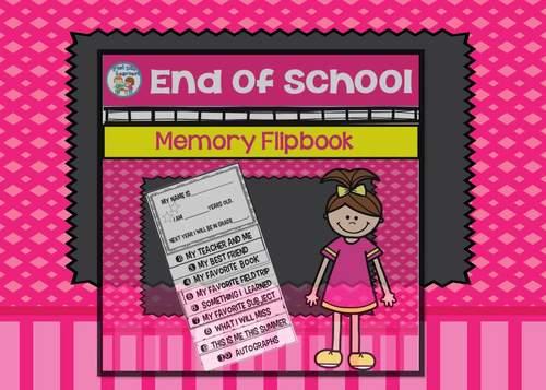 End of Year Memory Flipbook
