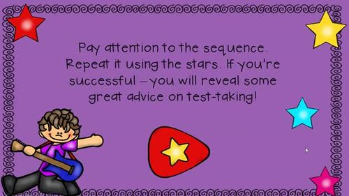 An INTERACTIVE Lesson on Dealing with Test Anxiety, Grades K-1