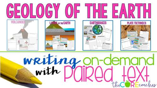 Geology of Earth Bundle • Digital Paired Passages   for Distance Learning