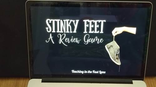 Addition and Subtraction Review Game Stinky Feet