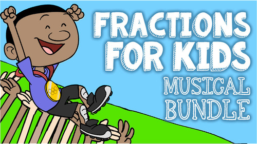 Multimedia Fractions Activity Pack: Video, Song, Activities, Worksheets, Posters