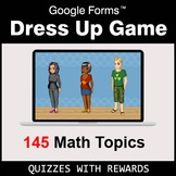 Dress Up Game with Google Forms - DEMO - Distance Learning
