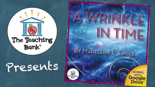 A Wrinkle in Time Novel Study Book Unit Distance Learning