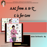 AAC Tips from A to Z   C is for Core Vocabulary