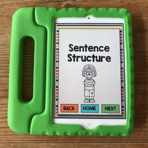 Leveled Intervention for Grammar (No Print)