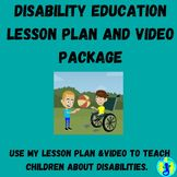 Disability Lesson Plans with Video