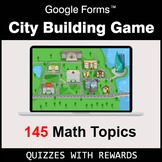 City Building Math Game with Google Forms - Distance Learn
