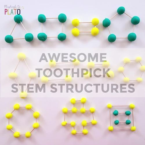 STEM Challenge: Build Toothpick Structures (Distance Learning)