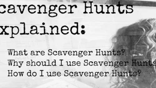 Animal Diversity Scavenger Hunt