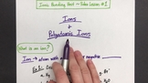 Ions & Polyatomic Ions VIDEO LESSON