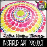 Alma Woodsey Thomas Art Lesson, Springtime in Washington