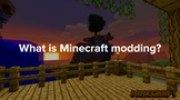 Coding - Introduction to Minecraft Modding - What Is It? G