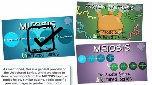Amoeba Sisters Unlectured Series- OSMOSIS and WATER POTENTIAL