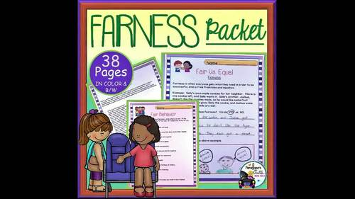 Fairness BUNDLE:  All Fairness Lessons and Activities