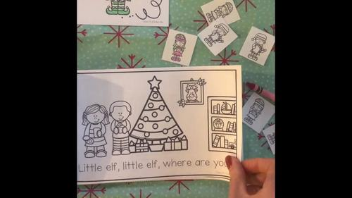 Little Elf Poem and Emergent Reader Bundle! (Perfect for Elf on the Shelf!)