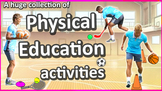 Free Physical Education games, skills, drills & activities