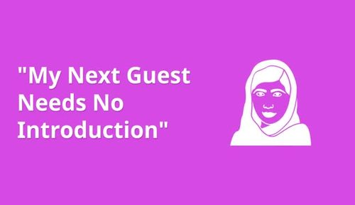 """My Next Guest Needs No Introduction"": Malala Yousafzai -- Viewing Guide"