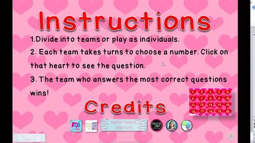 Valentine's Day Frequently Confused Homophones PowerPoint Game