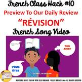"""10 French Class Transition Video """"Review"""" for CI TCI TPRS"""