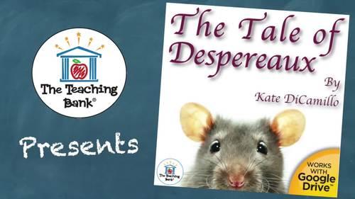 The Tale of Despereaux Novel Study Book Unit