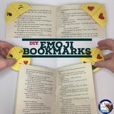 End of Year Gift - DIY Emoji Bookmarks!