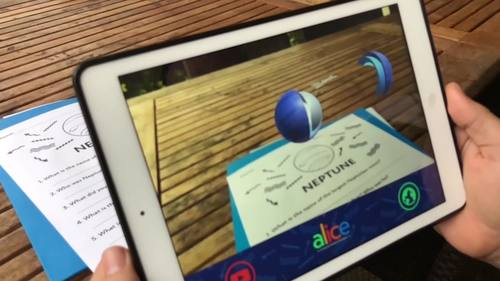Augmented Reality Neptune Worksheet by Leap With Alice | TpT