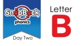 SnapBack Phonics Video: Letter B, Day Two