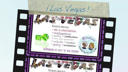 SER y ESTAR Take LAS VEGAS * a Speaking & Writing Practice Activity