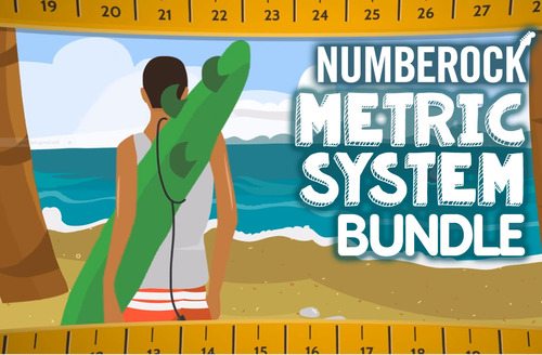 Metric System Conversions: 2 Videos, Game, Worksheets & Activities