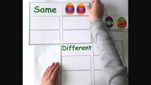 Easter Activities for Autism and Speech Therapy
