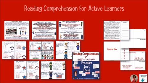 Freedom Isn't Free - Learning About the USA for Active Learners