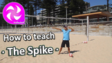 How to teach Volleyball - The Spike - PE sport skills grades 3-6